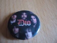 "BADGE VINTAGE 80's ""DIO"".."