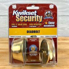 Kwikset Security Deadbolt Lock Set