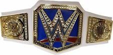 WWE Smackdown Womens Championship Blue Toy Title Belt