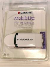 Kingston MobileLite 9-in-1 USB Card Reader SD/MicroSD/MMC/MiniSD/MMCMicro FCR-ML
