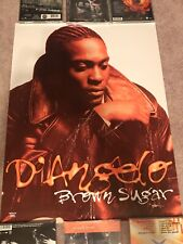 D'Angelo Rare Brown Sugar Poster 1995 Vintage Rap Hip Hop OkayPlayer Roots Dj Lp