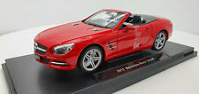 Welly Mercedes Benz SL 500 2012 Red Open top 1:18 , Modelauto24