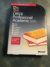 Microsoft Office Professional Academic 2010 DVD & Product Key