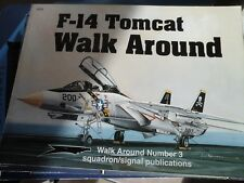 F-14 TOMCAT-SQUADRON SIGNAL WALK AROUND N.3- BY LOU DRENDEL