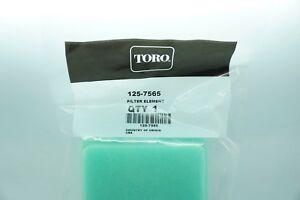 GENUINE OEM TORO PART # 125-7565 AIR FILTER; REPLACES PART # 77-7950 AIR FILTER