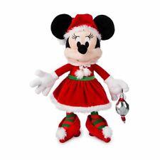 Disney World Santa Minnie Plush, NEW