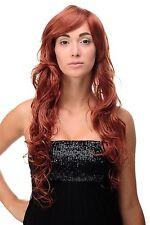 Lange Perücke Rot Kupferrot gewelltes Haar Langhaarfrisur ca. 70 cm 9669EL-130