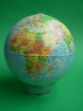MAPPAMONDO DA SCRIVANIA CON LENTE COME BASE GLOBE WITH MAGNIFYING GLASS BASE