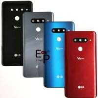 Battery Back Door Back Glass Cover With Camera Lens + Adhesive For LG V40 ThinQ