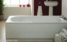 Luxury Bathroom White Acrylic 1700mm x 510mm Standard Bath Front Side Panel