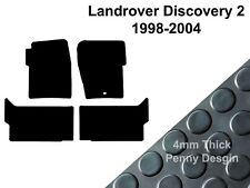 Landrover Discovery 2 (1998-2004) Fully Tailored Black Rubber Car Floor Mats