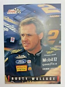 Rusty Wallace #2 1995 Finish Line Classic Nascar Racing Card Great for Grading