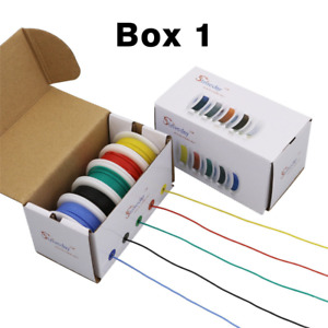 Striveday Flexible Silicone Wire 18awg Electric wire 18 gauge Coper Hook BOX-1