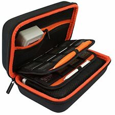 TAKECASE New 3DS XL and 2DS XL Carrying Case - Fits Wall Charger  (Orange)