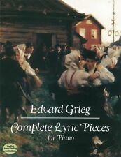 Edvard Grieg Complete Lyric Pieces For Piano Play Classical Music Book