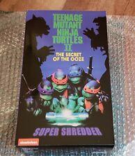 NECA TMNT Deluxe Super Shredder Action Figure. In Hand.