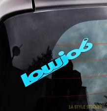Lowjob pegatinas Dapper Sticker Adhesivo tuning sticker decal low pegatinas