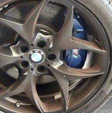 BMW Brand E70 E71 F15 F16 X5 M X6 M Blue Brembo Front Brake Caliper Pair OEM NEW