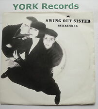 "SWING OUT SISTER - Surrender - Excellent Condition 7"" Single Mercury SWING 3"