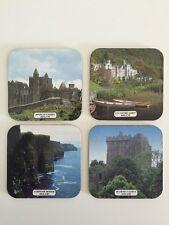 Ireland Souvenir Coasters Set of 4 Blarney Castle Moher Irish Photo Bar Drink