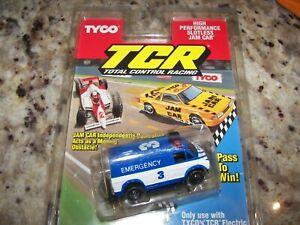 Tyco  TCR Emergency #3 Jam Car - HO - NEW #6488