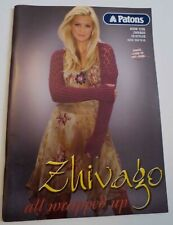 Knitting Book - Zhivago - All Wrapped Up - Patons 1235