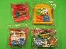1996-99 McDonalds - Fisher-Price Toddler Toys - Group B - Set of 4 *MIP*