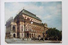 29586 Tönende AK Supraphon Schallplatte Prag Nationaltheater Musik von Semetana