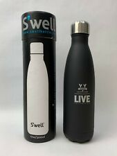 S'well Vacuum Insulated Stainless Steel Water Bottle Onyx - 17oz/ 500ml Details