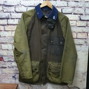 Barbour Dept B Limited Ed Bedale Custom Green Country Wax Waxed Jacket Coat S