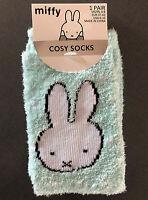 Miffy Hase Damen Socken Strümpfe Kuschelsocken Fleece Stopper ABS 37-42 Primark