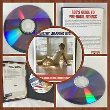 HEALTHY LEARNING DVD  AGE'S GUIDE TO PRE-NATAL FITNESS ((Free Shipping))