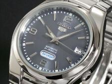 New Seiko Mens SNK621 Seiko 5  Stainless Steel Automatic Watch
