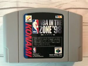 NBA In The Zone '98  Nintendo 64 N64 Japanese Cartridge Only F/S Tracking USED