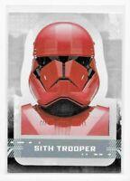 Topps Star Wars Rise of Skywalker SITH TROOPER Character Sticker INSERT CS-15