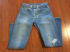 """Levis Sz 32 Straight Boot Cut Mid Light Beverly Hills Clothing Co Patch 30"""" x 30"""