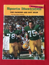 VINTAGE SPORTS ILLUSTRATED OCT 28TH 1968 GREEN BAY PACKERS