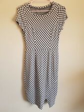 Metalicus One Size Pattern Shift Dress With Front Split - NEW