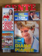 GENTE n°27 1992 Memoriale Le Ultime Ore di Mussolini - Lady Diana Mara V  [G592]
