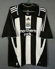 ADIDAS FC NEWCASTLE UNITED 2007/2008 HOME SOCCER FOOTBALL SHIRT JERSEY SIZE XL