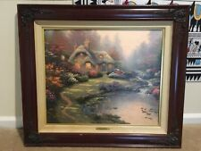 Thomas Kinkade Original Everett's Cottage Painting