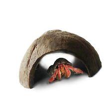 SunGrow Hermit Crab Huts, 5x3 Inches, Arthropod's Coconut Hide, Spacious Coco.
