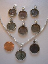 Ancient Coin Pendant Necklace Jewelry using Premium Original Ancient Roman Coin