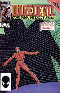 Daredevil Comic 223 Copper Age First Print 1985 Denny Oneil Shooter Mazzucchelli