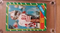 1986 TOPPS JERRY RICE ROOKIE CARD NM