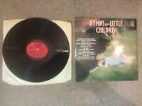 HYMNS FOR LITTLE CHILDREN Sunbury Junior The Salvation Army VINYL LP MFP 50337