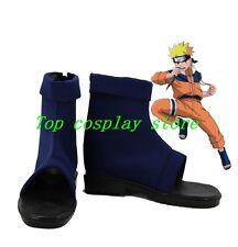 Naruto Uzumaki Naruto cos Cosplay Boots Shoes shoe boot blue ver #15YJZ44