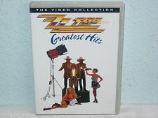 """*****DVD-ZZ TOP""""GREATEST HITS-Warner Music Vision*****"""