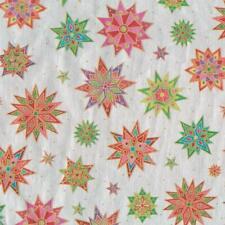 Caspari 8' Continuous Gift Wrap Roll, Bedazzled Silver Foil (9645RC)