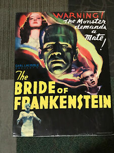 "Bride of Frankenstein HALLOWEEN Creepy Classics Posters 21"" Wide x 28"" Tall"